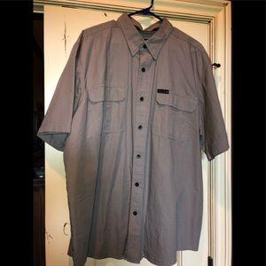 Harley Davidson men's button shirt EUC 2XL